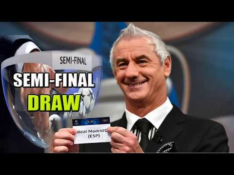 UEFA CHAMPIONS LEAGUE SEMI-FINAL DRAW 2018