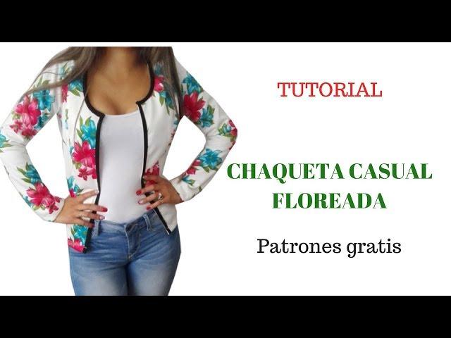 9b75ffc648 DIY chaqueta casual de flores corte y confección Download video - get video  youtube