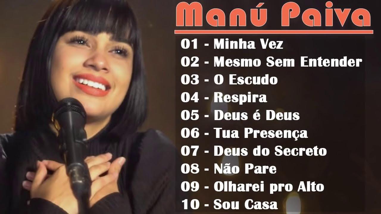 Manú Paiva | As 10 Melhores Músicas Gospel Mais Tocadas 2020, MK Music Cover Session