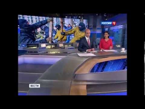 Brainwashing on Russian TV: Fascists came to power in Ukraine, Crimea welcomes Russian soldiers