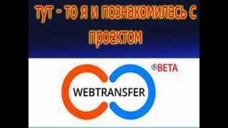 мои успехи в социально - кредитной сети Web-transfer<