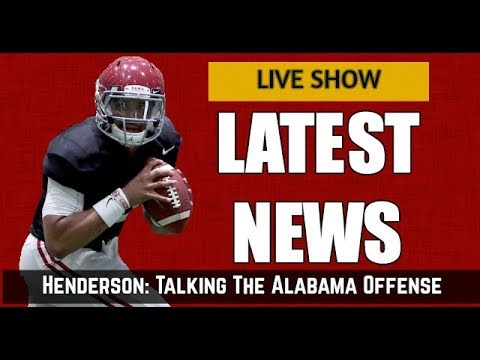 Talk of Champions: Henderson talks the Alabama offense