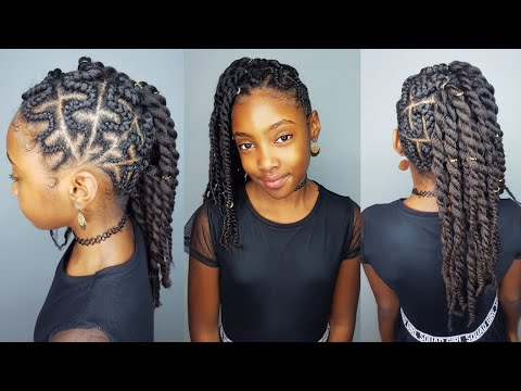 Zig-zag Side Braids- Hairstyle for Girls thumbnail