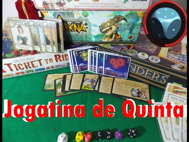 Jogatina de Quinta - Variante para 7 Wonders Leaders