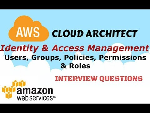 AWS Security - IAM- Users, Groups, Policy, Roles, CLI - Identity & Access  Management