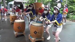 小樽稲荷神社例大祭 疫病退散・潮太鼓打演画像