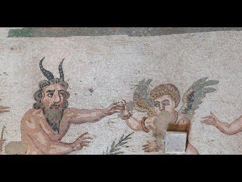 3D Mapping Ancient Roman Mosaics: Villa Romana Del Casale, Sicily