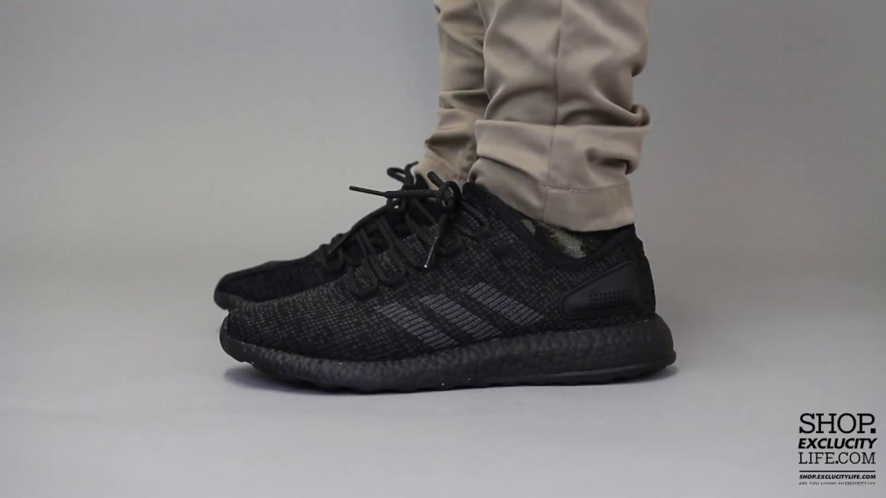 innovative design b83f8 cd331 adidas pure boost triple black