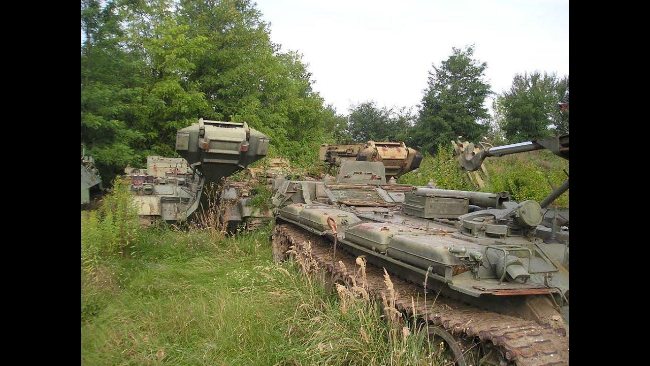 Forgotten Military Vehicles Cemetery 2 Urban
