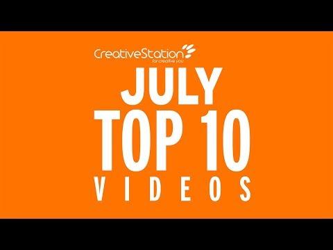 CreativeStation July 2017 Top 10 Video Arts