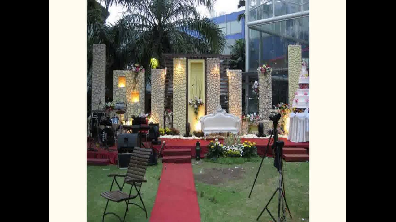 Garden wedding decoration ideas 2015 youtube for Garden decoration ideas pictures