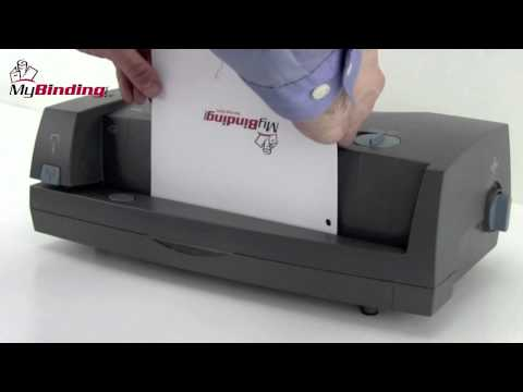 GBC 3230ST 2 3 Hole Punch And Stapler Demo YouTube