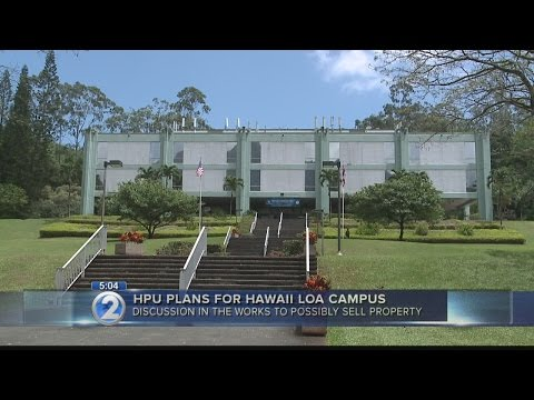 HPU explores possibility of selling Hawaii Loa campus