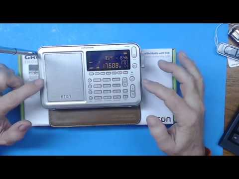 TRRS #1097 - New Eton Executive Satellit Shortwave Radio