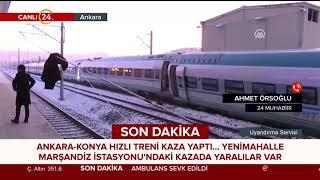 #Ankara'daki tren kazası nasıl gerçekleşti? 24 Muhabiri Ahmet Örsoğlu aktarıyor