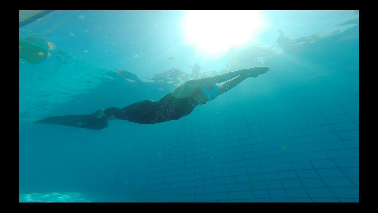Natalia Molchanova World Record Freediving, 237 Meter