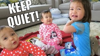 How To Keep Babies QUIET! - March 20, 2015 -  ItsJudysLife Vlogs