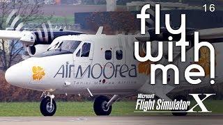 Microsoft Flight Simulator X - Air Moorea to Bora Bora
