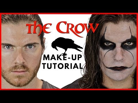 """""""The Crow"""" Make-up Tutorial: """"The Undead Avenger""""- Episode 2"""