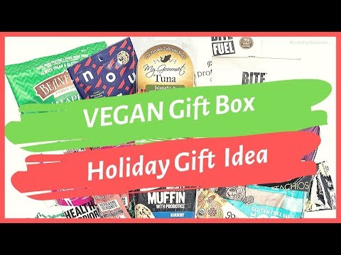 �� Subscription Food Box Vegan Gluten Free Snack Gift Baskets �� Great Last Minute Holiday Gift Idea