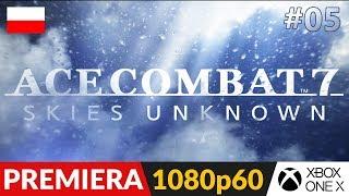 Ace Combat 7 PL ✈️ #5 (odc.5) ⛅️ Misja 7 - Pierwszy kontakt | AC7 Gameplay po polsku