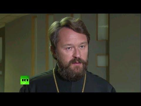 Митрополит Иларион: Решение об автокефалии Украины будет войной против единства православия