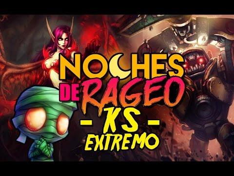 EQUIPO KS EXTREMO !! NOCHES DE RAGEO CON NAUTILUS ADC (League of Legends)