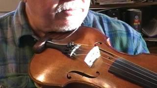 """Bob Kogut 5 string violin, # 169, """"Rosanna"""""""