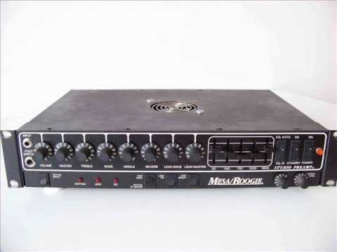 Demo Mesa Boogie Studio Preamp S Recording Out Recabinet