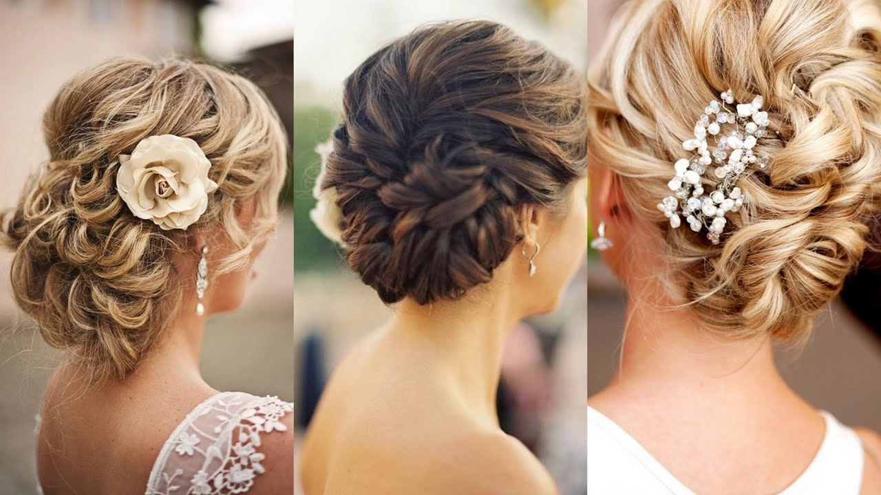 15 Glamorous Wedding Updos - YouTube