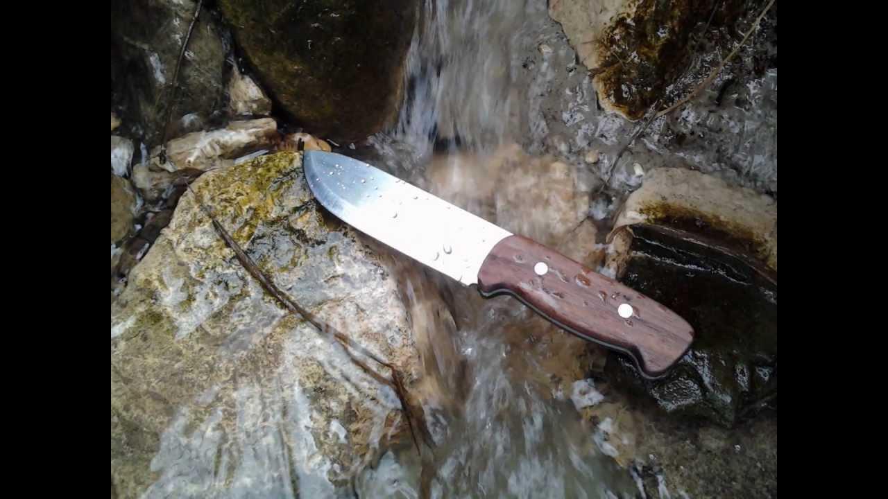 Lu7 coltello lama Coltello Da Caccia Outdoor pezzo grezzo 1.4116 acciaio semplicemente Top