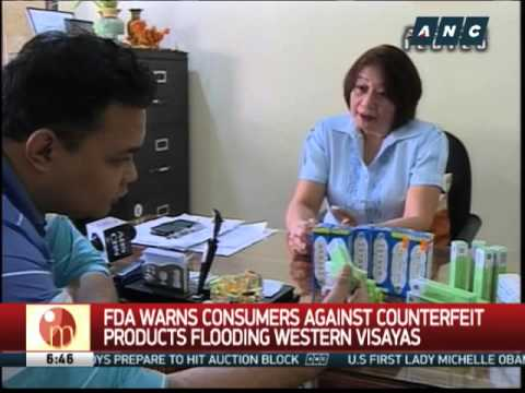 FDA warns vs counterfeit products flooding Western Visayas