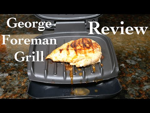 George foreman classic plate 2 serving grill review youtube - George foreman replacement grill plates ...
