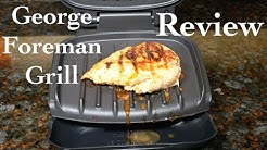 George Foreman Classic Plate 2 Serving Grill Review