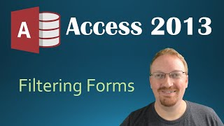 """Filtering Our Form in """"Programming in Microsoft Access 2013"""". Hoste..."""