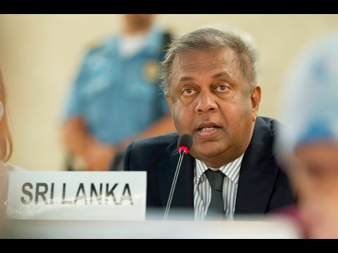 Statement by Foreign Minister of Sri Lanka at the 32nd Session of the UN Human Rights Council
