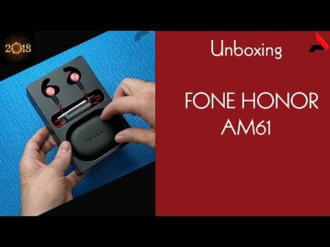 [UNBOXING] Huawei Honor xSport AM61 Fone bluetooth (earbuds)