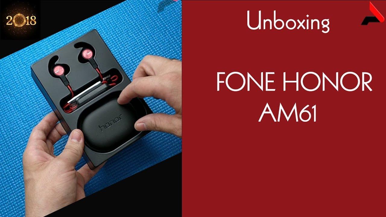 ac9b9671832 UNBOXING] Huawei Honor xSport AM61 Fone bluetooth (earbuds) - YouTube