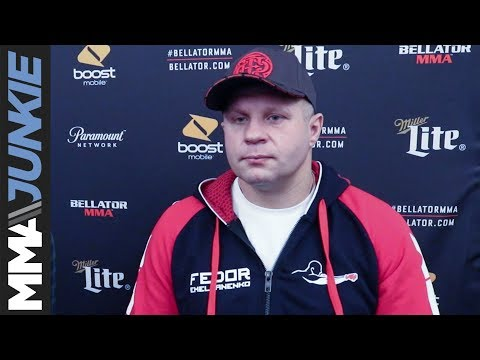 Bellator heavyweight grand prix: Fedor Emelianenko full interview