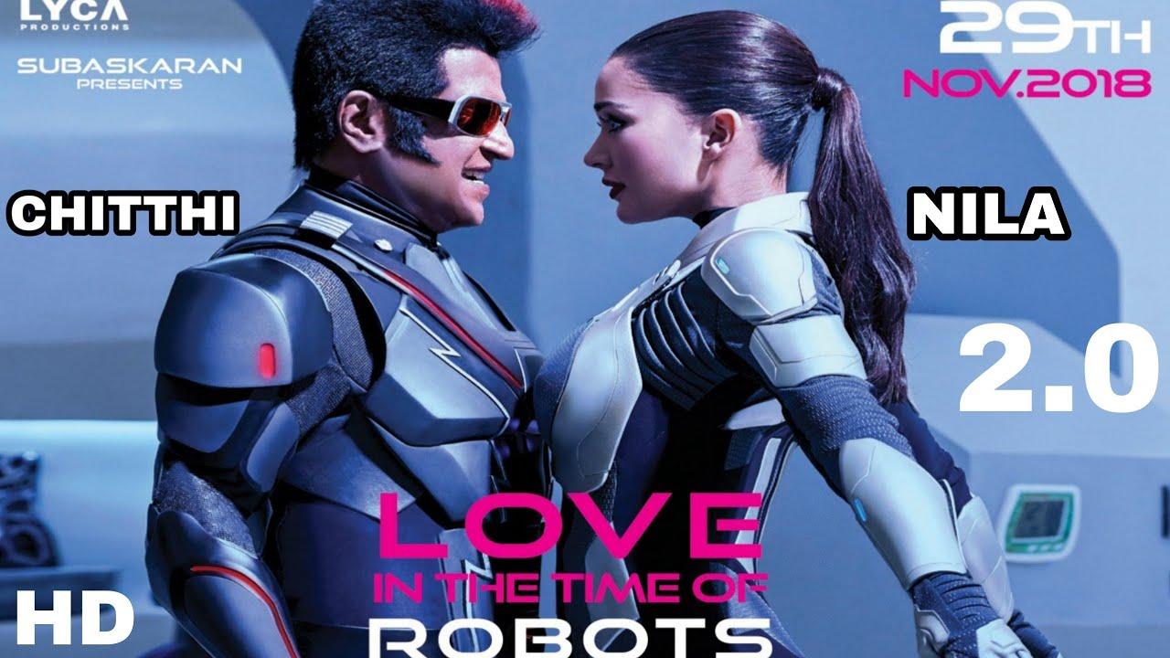 Amy Jackson Character In Robot 2.0, Amy Jackson Love Scene