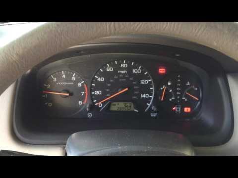 2001 Honda Accord Engine Surge And Shift Point Dash Lights