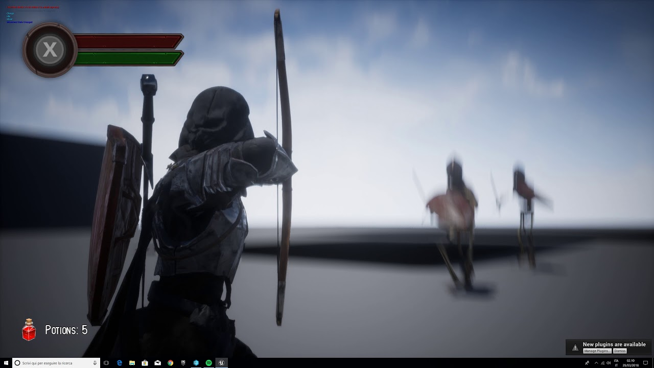 Unreal Engine Dark Souls combat System - Horizon Archery