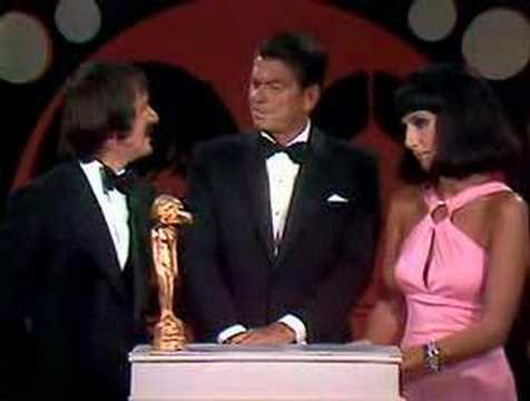 Ronald Reagan with Sonny & Cher
