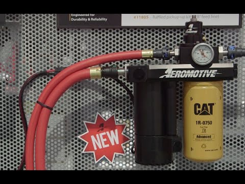SEMA 2015: New Diesel Lift Pump From Aeromotive Adds Power and Fuel Economy