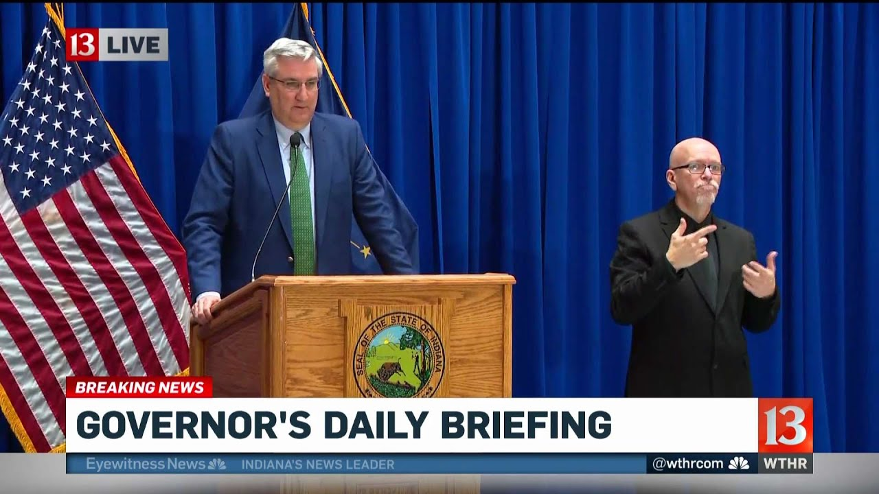 Indiana Governor Plans to Announce Decision on Stay-at-Home ...