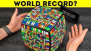 Solving the huge Rubik's Cube 15X15 in record time screenshot 2
