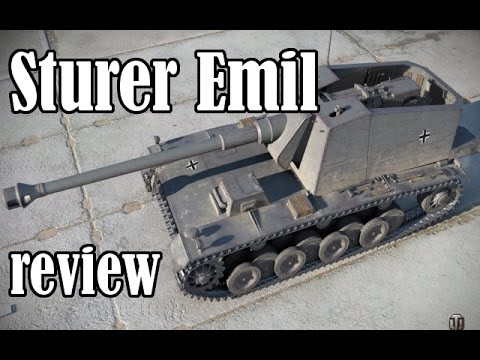 Sturer Emil Review Mr Droopy Tier 7 German TD World