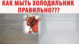 видео Чем помыть новый холодильник внутри