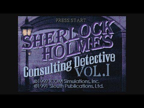 20 Mins Of...Sherlock Holmes - Consulting Detective Intro (US/Sega-CD) |