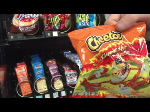How To Properly Fill A Vending Machine!